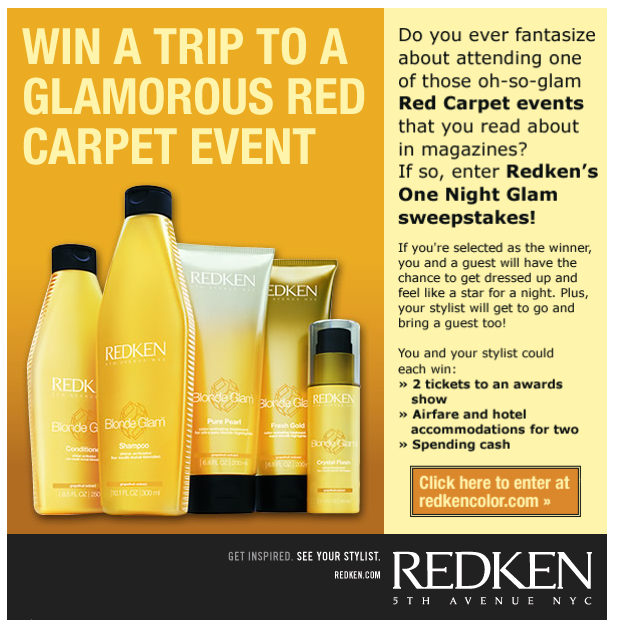 Project: Email - Redken