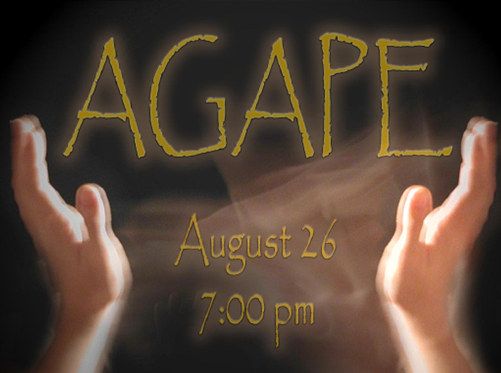 Project: Banner - Poster Agape