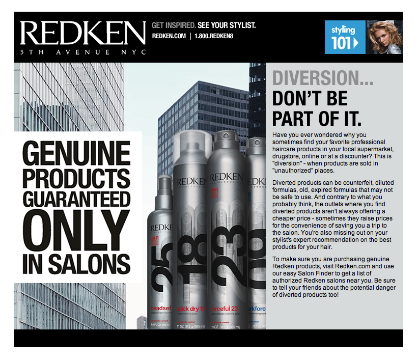 Project: Landing Pages - Redken 101-2