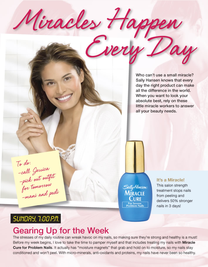Project: Landing Pages - Sally Hansen 1